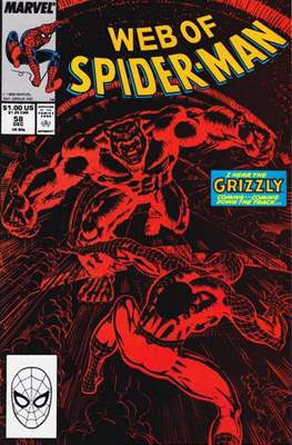 Web of Spider-Man Vol. 1 (1985-1995) (Comic-book) #58