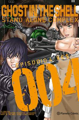 Ghost in the Shell: Stand Alone Complex (Rústica) #4