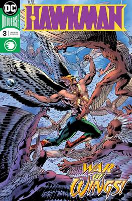 Hawkman Vol. 5 (2018-) (Comic Book) #3