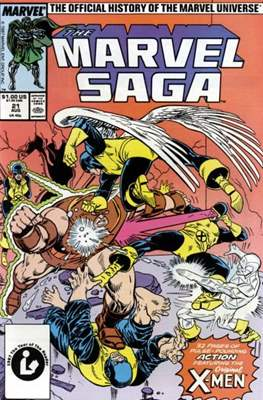 Marvel Saga (Comic-book.) #21