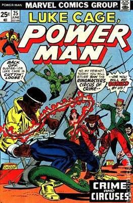 Hero for Hire / Power Man Vol 1 / Power Man and Iron Fist Vol 1 (Comic Book) #25