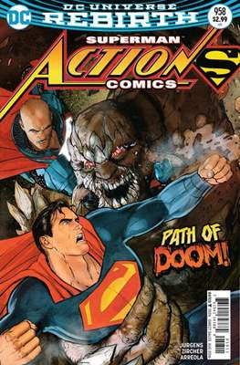 Action Comics Vol. 1 (1938-2011; 2016-) (Comic Book) #958
