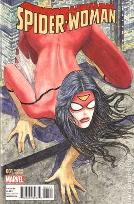 Spider-Woman (Vol. 5 2014-2015 Variant Covers) (Grapa) #1.1