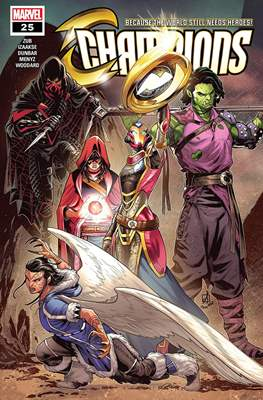 Champions Vol. 2 (Comic-Book) #25