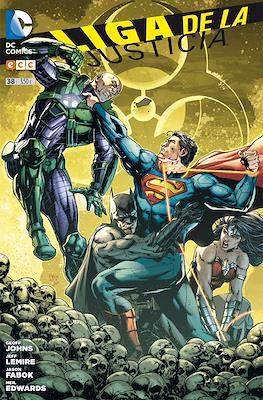 Liga de la Justicia. Nuevo Universo DC / Renacimiento (Grapa) #38