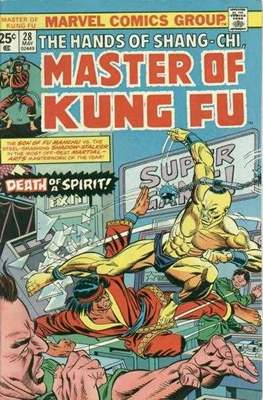Master of Kung Fu (Comic Book. 1974 - 1983. Continued from Special Marvel Edition #16) #28