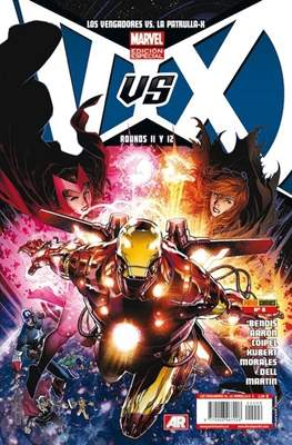 VS. Los Vengadores vs La Patrulla-X (Grapa) #6
