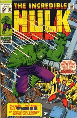 The Incredible Hulk Vol.1 (Saddle-stitched. 1962-1999) #127