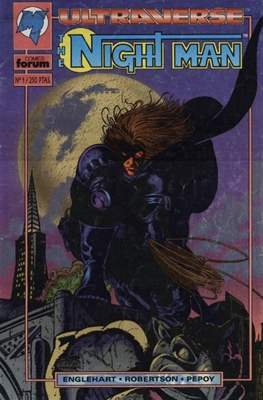 The Night Man. Ultraverse (Grapa 24 pp) #1