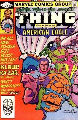 Marvel Two-in-One Annual (Comic Book. 1976 - 1982) #6