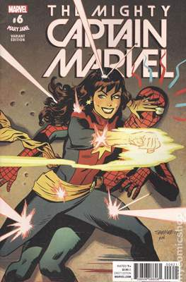 The Mighty Captain Marvel (2017-) Variant Covers #6.1