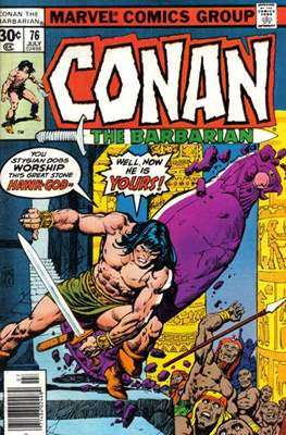 Conan The Barbarian (1970-1993) (Comic Book 32 pp) #76