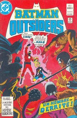 Batman y los Outsiders (Grapa) #4