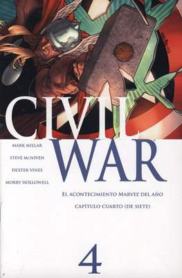 Civil War (2007) (Grapa) #4