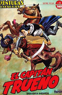 Aventuras Bizarras. El Capitán Trueno. Serie Roja (Grapa, 28 páginas) #2