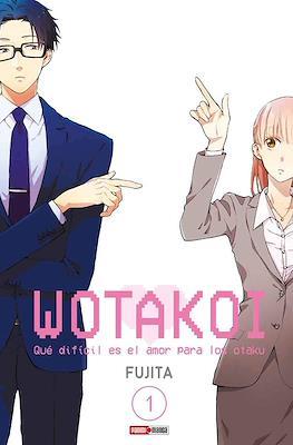 Wotakoi: Qué difícil es el amor para los Otaku (Rústica con sobrecubierta) #1