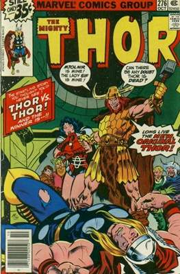 Journey into Mystery / Thor Vol 1 (Comic Book) #276