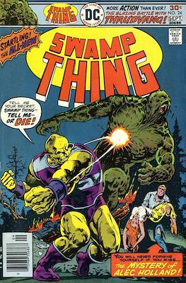 Swamp Thing (1972 1st Series) (Comic Book. 1972 - 1976) #24