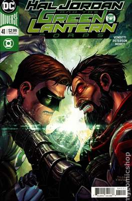 Hal Jordan and the Green Lantern Corps (Vol. 1 2016-2018 Variant Cover) (Comic Book) #41
