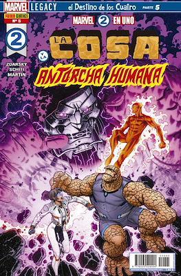 Marvel 2 en Uno: La Cosa y La Antorcha Humana #5