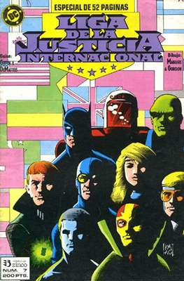 Liga de la Justicia / Liga de la Justicia internacional / Liga de la Justicia de América #7
