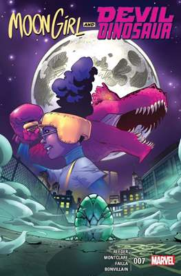 Moon Girl and Devil Dinosaur (Comic-book) #7