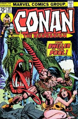 Conan The Barbarian (1970-1993) (Comic Book 32 pp) #50