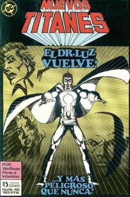 Nuevos Titanes Vol. 1 (1984-1988) (Grapa 40 pp) #40