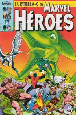 Marvel Héroes (1986-1993) (Grapa 32 pp) #33