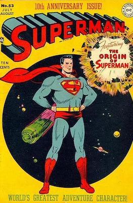 Superman Vol. 1 / Adventures of Superman Vol. 1 (1939-2011) (Comic Book) #53