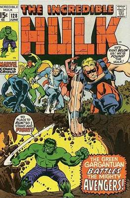 The Incredible Hulk Vol.1 (Saddle-stitched. 1962-1999) #128
