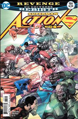 Action Comics Vol. 1 (1938-2011; 2016-) (Comic Book) #984