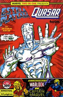 Estela Plateada Vol. 1 / Marvel Two-In-One: Estela Plateada & Quasar (1989-1991) (Grapa 32-64 pp) #26