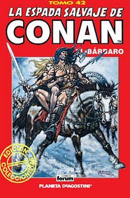 La Espada Salvaje de Conan el Bárbaro. Edición coleccionistas (Rojo) (Cartoné 192 pp) #42