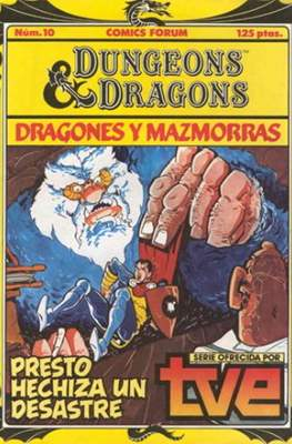 Dungeons and dragons. Dragones y mazmorras #10