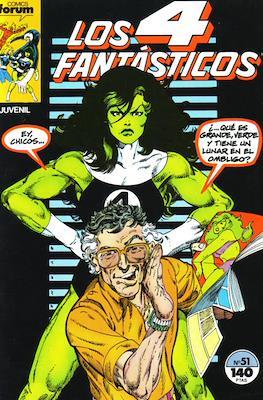 Los 4 Fantásticos Vol. 1 (1983-1994) (Grapa 36-32-24 pp) #51