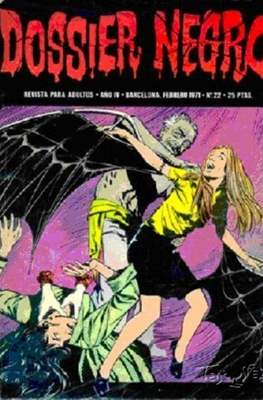 Dossier Negro (Rústica y grapa [1968 - 1988]) #22