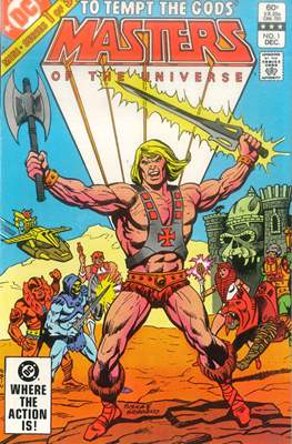 Masters of the Universe (1982-1983) (Comic Book) #1