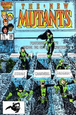 The New Mutants (Comic Book) #38