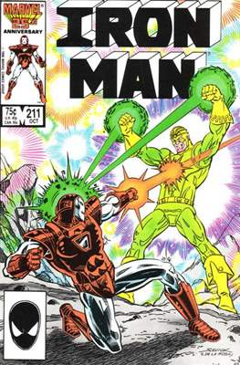 Iron Man Vol. 1 (1968-1996) (Comic book) #211