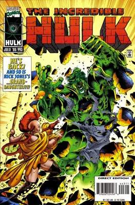 The Incredible Hulk Vol. 1 (1962-1999) (Comic Book) #443