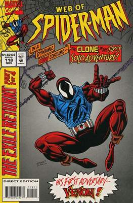 Web of Spider-Man Vol. 1 (1985-1995) (Comic-book) #118