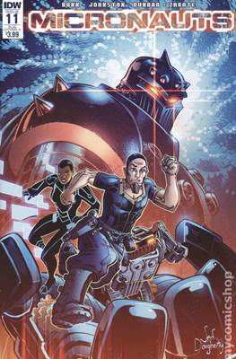 Micronauts (2016-2017 Variant Cover) (Comic Book) #11.1