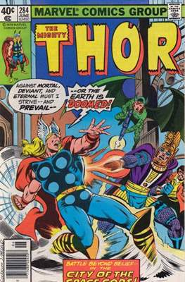 Journey into Mystery / Thor Vol 1 (Comic Book) #284