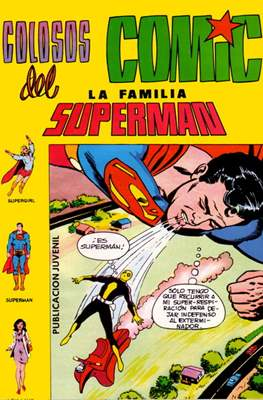 Colosos del Cómic: La familia Superman #7