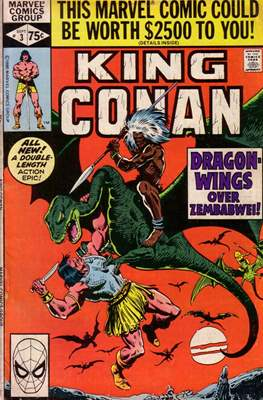 King Conan/Conan the King (1980-1989) (Grapa, 48 págs.) #3