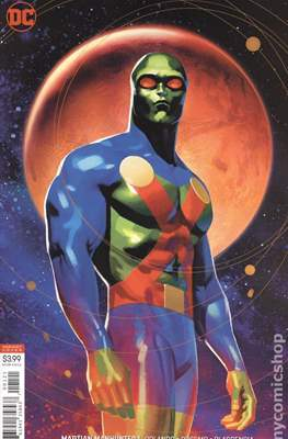 Martian Manhunter Vol. 5 (2018-...Variant Cover) (Comic Book) #1