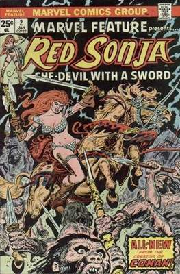 Marvel Feature presents Red Sonja (Comic Book) #2