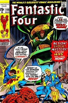 Fantastic Four Vol. 1 (1961-1996) (saddle-stitched) #108