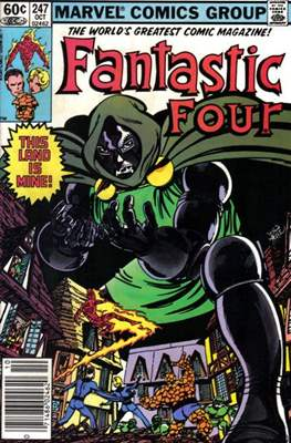 Fantastic Four Vol. 1 (1961-1996) (saddle-stitched) #247